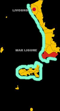 piombino map