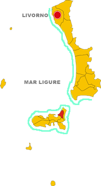rio nell'elba map