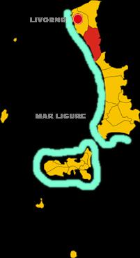 rosignano marittimo map