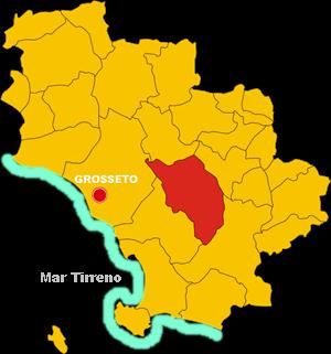 scansano map