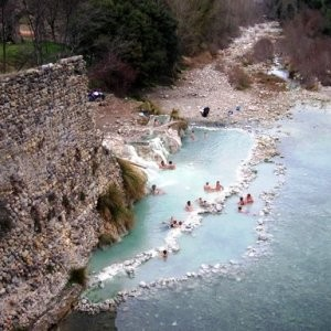 Monticiano (SI) - sorgenti calde Petriolo
