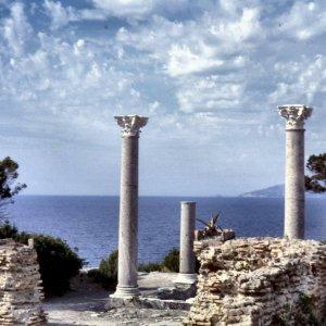 villa romana dell'isola di giannutri