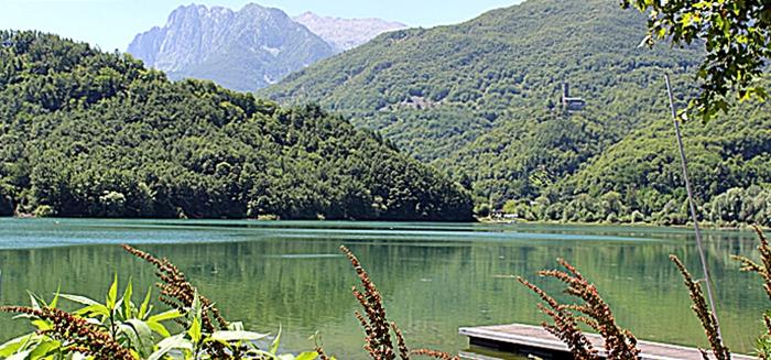 Lago di Gramolazzo - Garfagnana