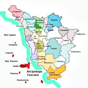 arcipelago toscano zona