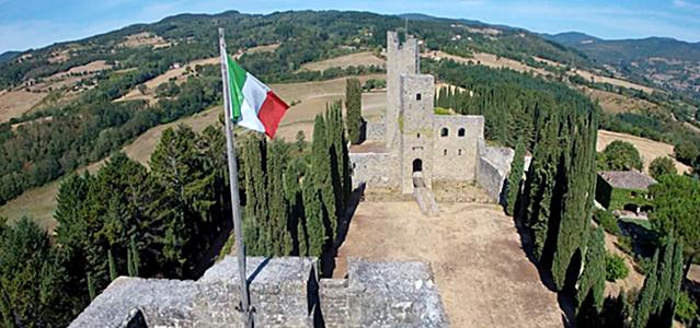 Casentino - Castello di Romena
