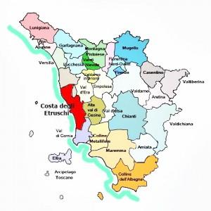 costa degli etruschi zona