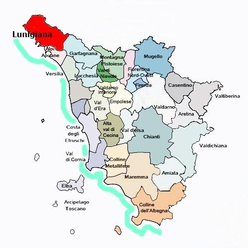 Appennino Tosco Emiliano territorio