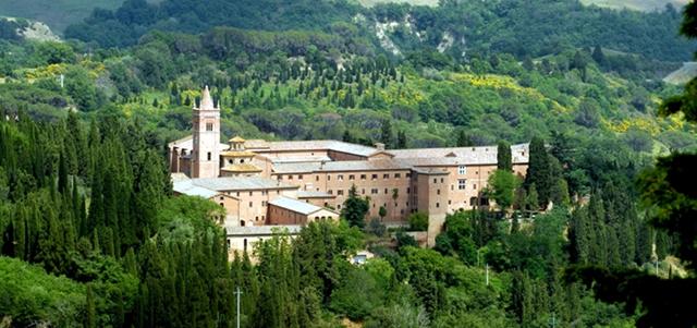abbazia monte oliveto - Asciano - Toscana