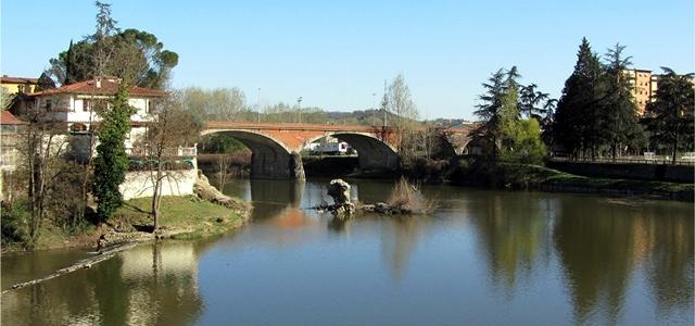 Valdarno fiume arno