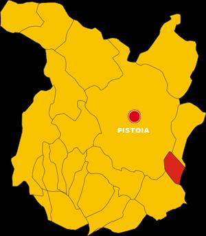 agliana map