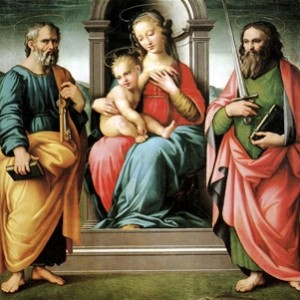 Scandicci - Vergine e bambino