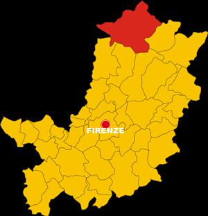 firenzuola map