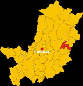 rufina map