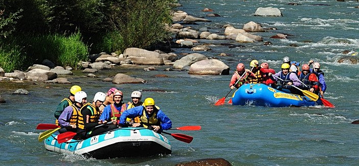 rafting in toscana
