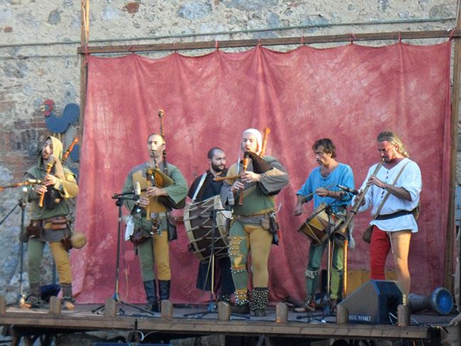 Festa medievale a Monterigioni