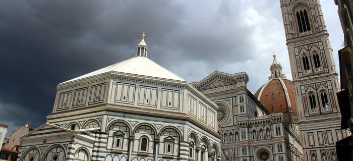 Florence Cathedral - Baptistery - Giotto's Bell Tower