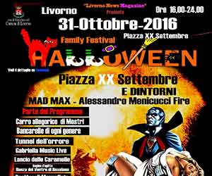 Halloween Livorno 2016