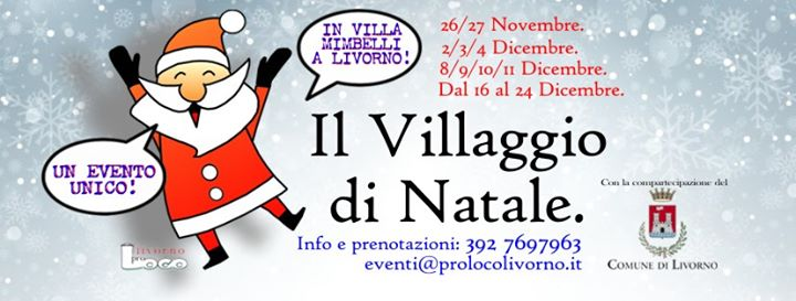 Christmas Village Livorno