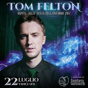 Festa dell'Unicorno - Tom Felton - Vinci