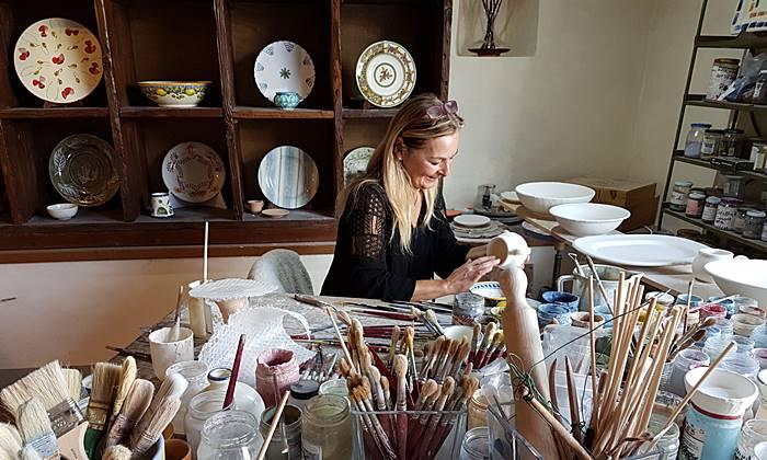 Nicoletta Penco bottega d'arte ceramica