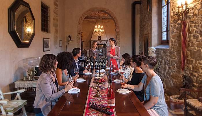 Villa La Ripa - wine tour