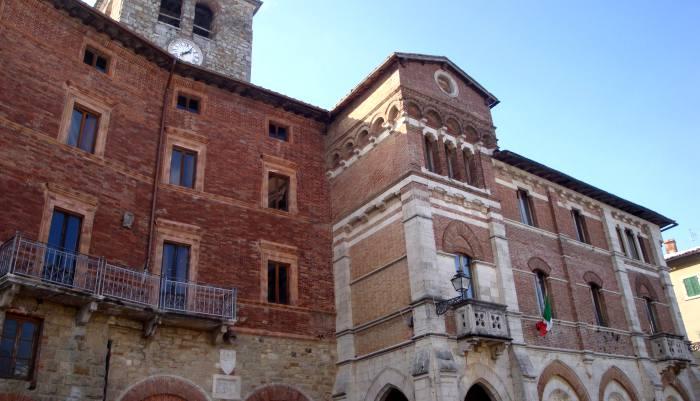 Montieri centro storico