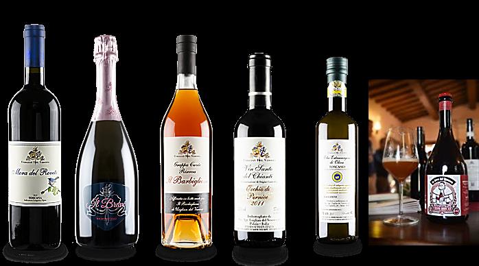Usiglian del Vescono vini, olio e birra