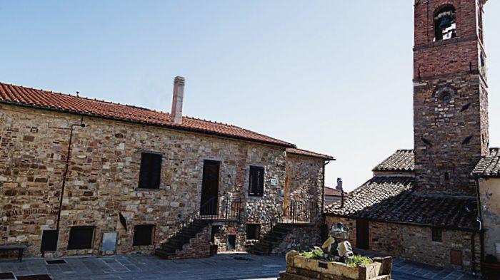 Monteverdi Marittimo centro storico