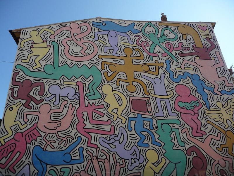 Tuttomondo - Murales di Keith Haring - Pisa