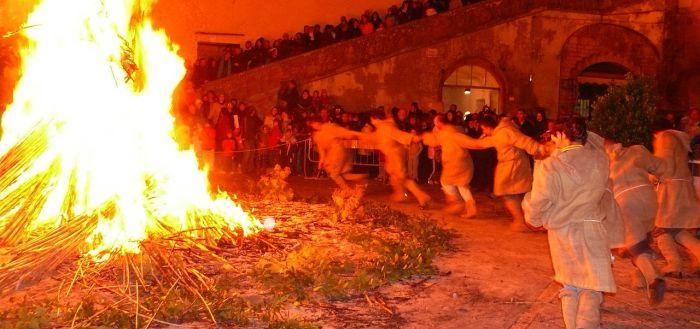 Torciata di San Giuseppe a Pitigliano