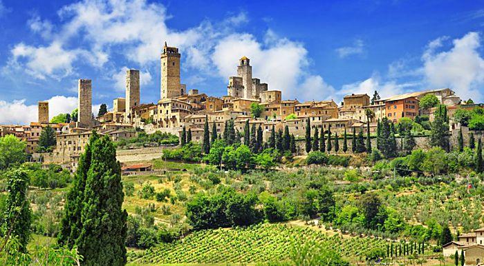 San Gimignano - Vernaccia