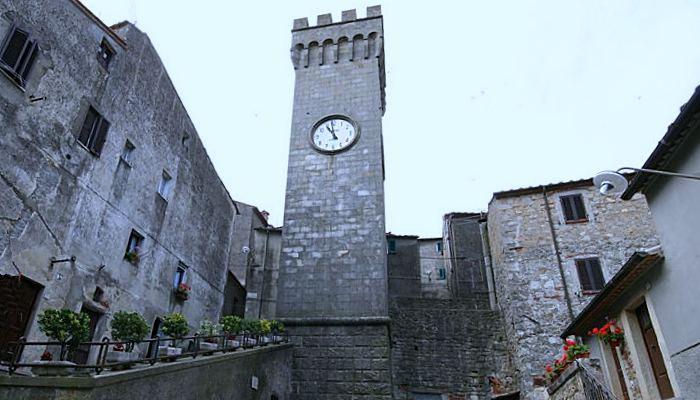 Roccastrada centro storico