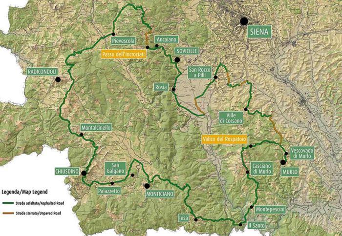 Gran Tour di Merse