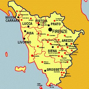 Mappa Borghi