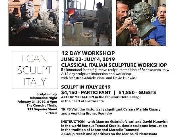I Can Sculpt Italy