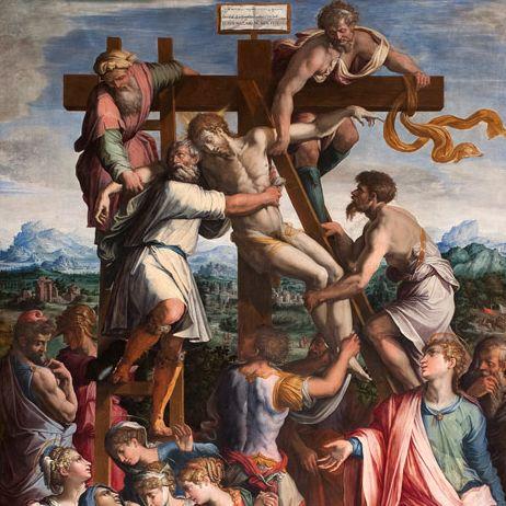 Giorgio Vasari - Deposizione - Monastero di camaldolesi (AR)
