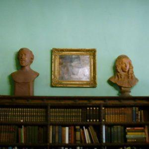 Casa Guidi (FI) - busti Robert e Elisabeth Browning