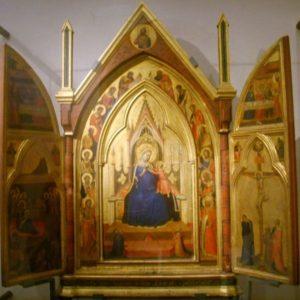 Bernardo Daddi - trittico - Museo Bigallo - Firenze