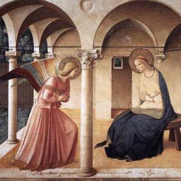 Beato Angelico - Annunciazione - Museo S. Marco - FI