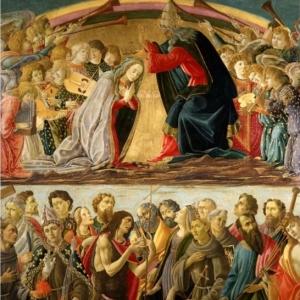 Botticelli Sandro - Incoronazione della Vergine - Villa La Quiete - FI