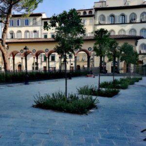 Piazza dei Ciompi - Loggetta del Pesce - FI