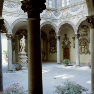 Palazzo Medici Riccardi - FI - cortile