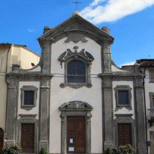 Castelfranco di Sopra Piandisco - chiesa San Filippo Neri