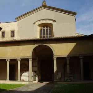 Chiesa Maddalena dei Pazzi - FI - atrio e portico di G. da Sangallo