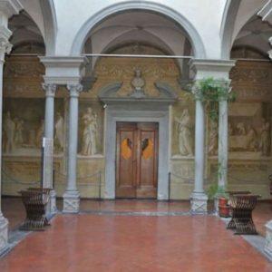 Andrea del Sarto - affreschi nel Chiostro dello Scalzo - FI