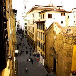 Firenze - via Calzaiuoli (verso il Duomo)
