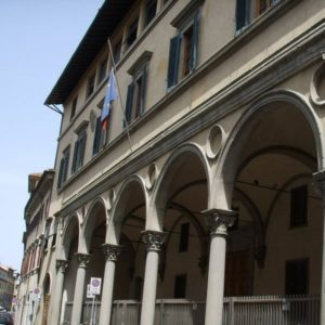 Firenze - via San Gallo - loggiato