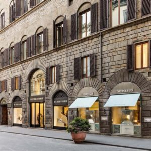 Firenze - via Tornabuoni - negozi