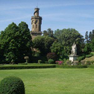 Villa Torrigiani - Fi - giardino e torrino
