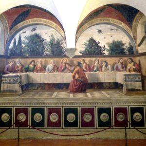 Domenico Ghirlandaio - Cenacolo di Ognissanti - FI - Ultima Cena